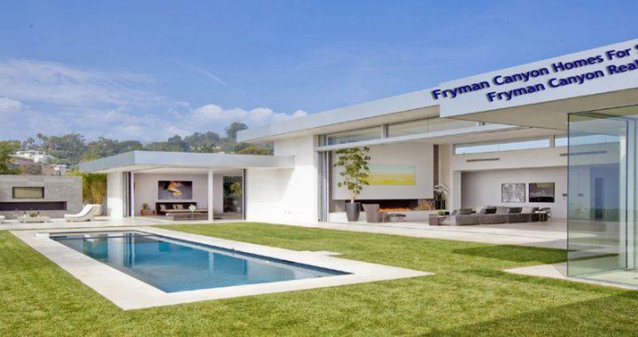 Fryman Canyon Real Estate